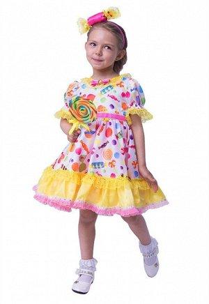 Прекрасный праздничный костюм на НГ Девочка - Конфетка Новый в фирменной упаковке