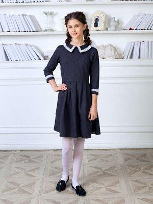 """Школьное платье """"Елизавета"""",серый"""