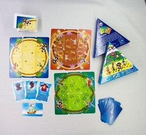 """Наст. игра """"Остров Pizza"""" арт.1972 (треугольная коробка)"""