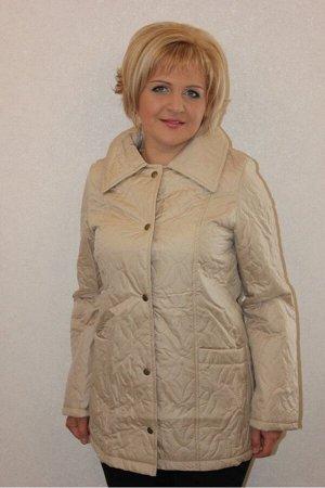 Куртка Куртка женская, плащевка+синтепон, демисезонная, ПЭ100%,
