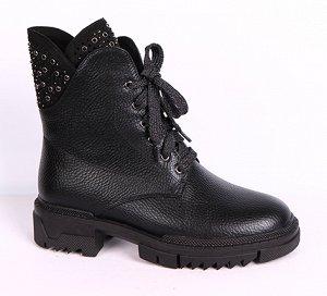 0Z0021-03-1 черный (Иск.кожа/Иск.мех) Ботинки женские