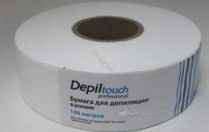 Бумага для депиляции в ролике  Depiltouch