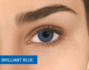 Цветные контактные линзы AIR OPTIX Colors 2 линзы (нулёвки)