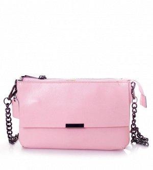 Сумка Страна производитель: Китай Цвет: Розовый Стиль: Молодежный Материал: Натуральная кожа Форма: Прямоугольная Плечевой ремень: Да Жесткость: Средней жесткости Тип сумки: Мессенджер/Почтовая Матери