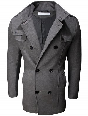 Пальто Stark Dark Grey 2