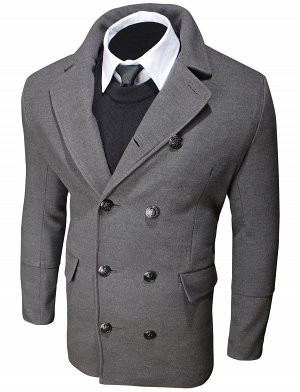 Пальто T003 Dark Gray