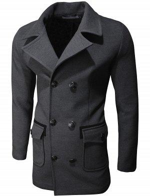 Пальто Trim Dark Gray