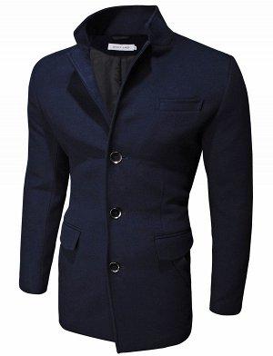 Пальто Casual Dark Blue