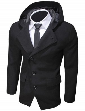 Пальто Hood Black