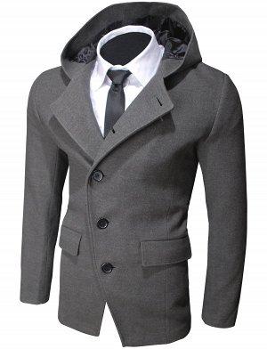 Пальто Hood Dark Gray