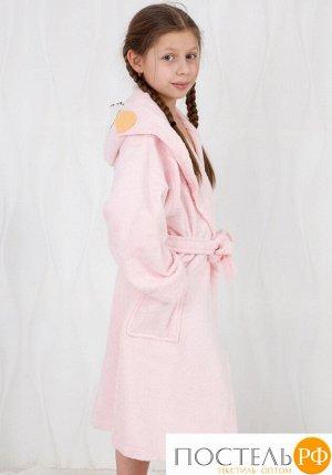 Очаровательный детский халат Happy people HP_2842 rosa Розовый 2-4 года