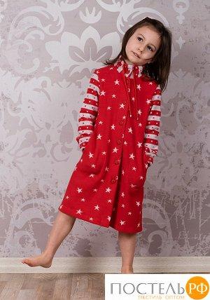 Красный халат для девочки BoboSette BoboSette_Dora Красный 3-4 года