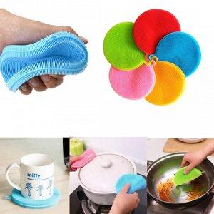 Щетка для мытья посуды силикон