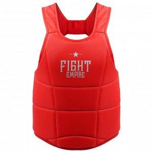 Жилет защитный FIGHT EMPIRE, размер S, цвет красный