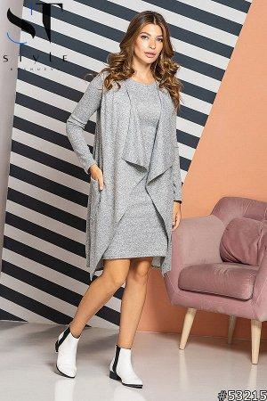 Комплект двойка 53215 (жилет+платье)