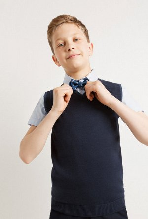 Жилет детский для мальчиков Moretti темно-синий
