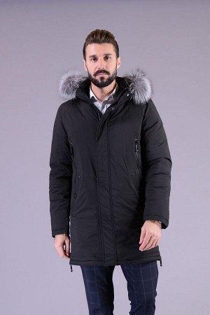 Куртка мужская зимняя Р-1163 черный