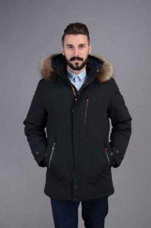 Куртка мужская зимняя Р-1002 черный