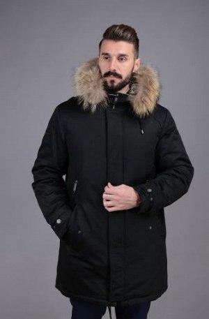 Куртка мужская зимняя Р-1103м черный
