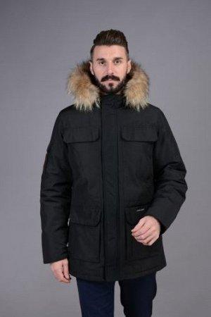Куртка мужская зимняя Р-844 черный