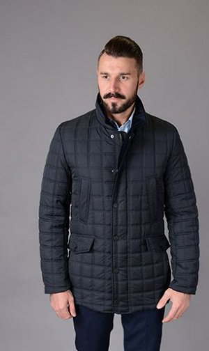 Куртка мужская деми  Р-715 т.синий