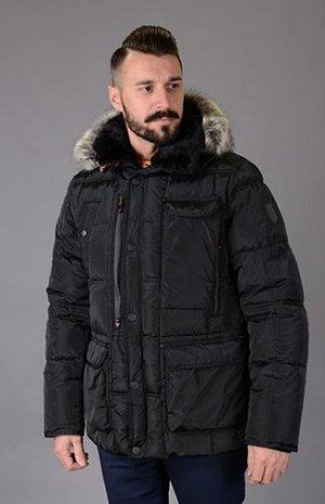 Куртка мужская зимняя Р-512 черный