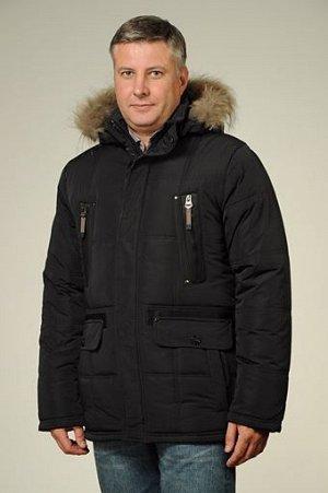 АКЦИЯ Куртка мужская зимняя P-70 черный