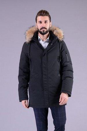 Куртка мужская зимняя Р-1218м черный