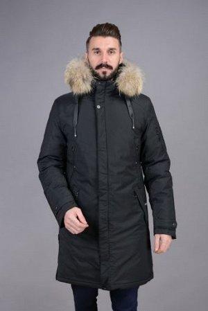 Куртка мужская зимняя Р-1077М черный
