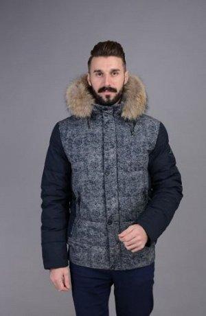 Куртка мужская зимняя Р-1009М синий