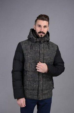 Куртка мужская зимняя Р-1009М черный