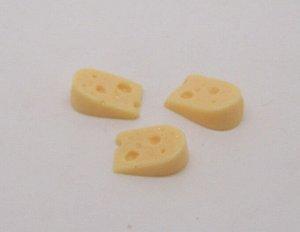 Сыр Сыр,размер 15*10 мм ,цена за 1 шт