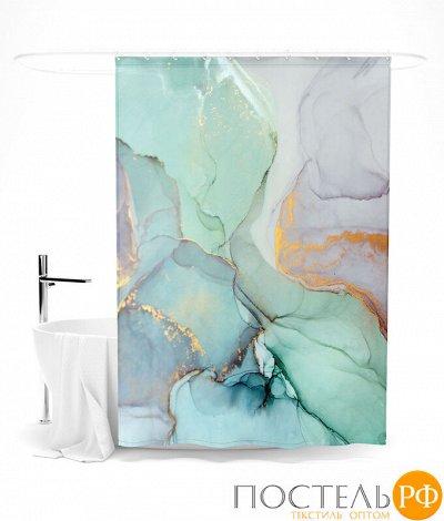 Текстиль для ванны-Огромный выбор. Полотенца. Халаты.Коврики — Шторы для ванной — Шторы