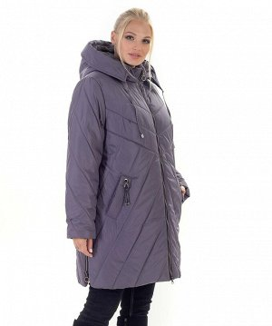 Женская зимняя куртка больших размеров Код: 138 -1 лиловый