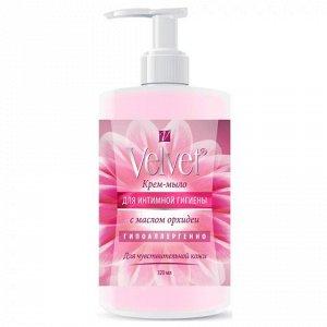 Velvet крем-мыло для интимной гигиены с маслом орхидеи-для чувствительной кожи320 мл