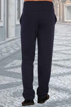 Брюки 2532 72% хлопок, 20% ПЭ, 8% лайкра Мужские брюки классического кроя из футера с лайкрой 2-х нитка. По бокам и задней половинке брюк прорезной карман с листочкой. Пояс на резинке со шнурком - для