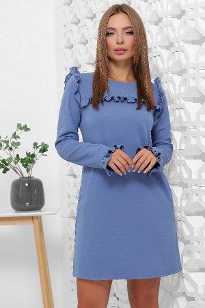Платье 1845 джинсовый