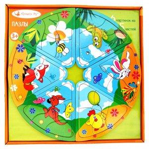 Анданте. РДИ. ТТ-002 Пазлы-головоломка для детей.(дерево).