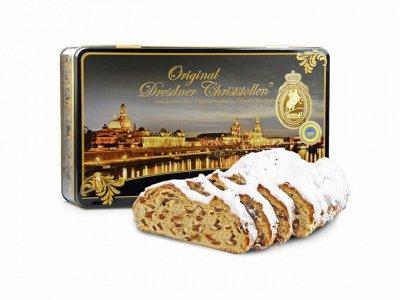 Магазин рождественских сладостей. Пряники, штоллены, шоколад — Stollen-aus-Dresden — Вафли и печенье