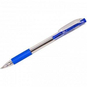 """Ручка шариковая автоматическая Luxor """"Sprint"""" синяя, 1,0мм, грип"""