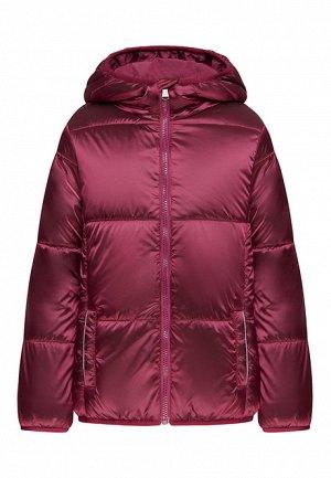 Утеплённая куртка с капюшоном для девочки