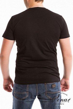 Футболка Мужская футболка свободного кроя с круглым вырезом горловины, выполнена из однотонного хлопкового полотна (фламли). Размерный ряд: 44-62. Состав Хлопок 100% Артикул 11915 Базовая единица шт