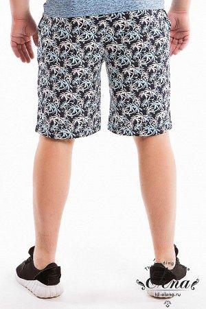 Шорты Шорты мужские выполнены из хлопковой ткани с набивным рисунком. Шорты с отрезным поясом и прорезными карманами. Размерный ряд: 44-62. ВНИМАНИЕ!!! На данную модель гарантии по цвету нет! Расцветк