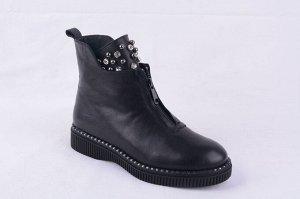 Отличные ботинки на полный 38р