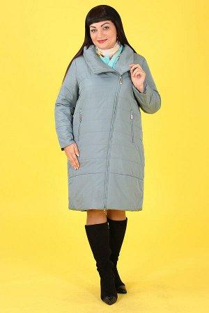 Бирюзовый Примечание:замеры длин соответствуют размеру 54 Длина пальто:100 см Длина рукава:61 см Подкладка:есть, холлофайбер Застежка:молния Карманы:есть, два функциональных на молнии Декор:нет