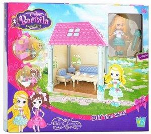 Набор Кукла с мебелью Barbila