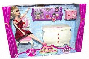 Набор кукла с мебелью