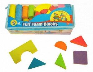 Конструктор мягкие блоки 52 дет.