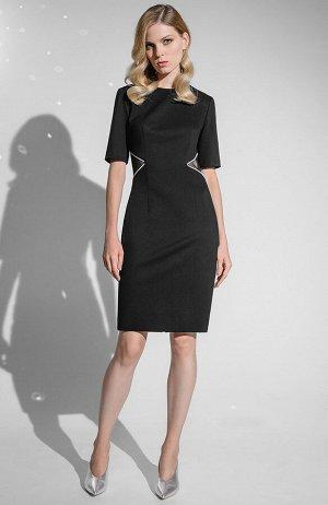Платье ( размеры 40  Черный;  42 Черный;  44  Черный;)