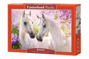 Пазлы 1000 Белые лошади